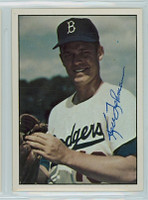 Ken Lehman AUTOGRAPH d.10 1979 TCMA The Fifties Dodgers 