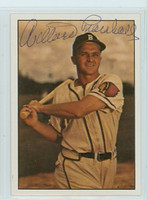 Willard Marshall AUTOGRAPH d.00 1979 TCMA The Fifties Braves 