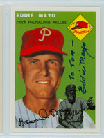 Eddie Mayo AUTOGRAPH d.06 Topps 1954 Archives Phillies   [SKU:MayoE4353_T54BBRPjl]
