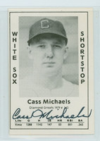 Cass Michaels AUTOGRAPH d.82 1979 TCMA Diamond Greats White Sox 