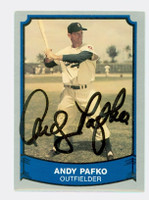 Andy Pafko AUTOGRAPH d.13 1988-89 Pacific Legends 