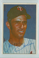 Frank Quilici AUTOGRAPH 1977-78 Twins Team Issue 