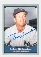 Bobby Richardson AUTOGRAPH 1990 Pacific Legends 