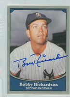 Bobby Richardson AUTOGRAPH 1990 Pacific Legends Yankees 