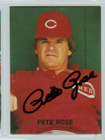Pete Rose AUTOGRAPH 1987 Action Superstars #43 