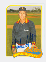 Mike Scott AUTOGRAPH 2004 Topps Fan Favorites Astros CERTIFIED 