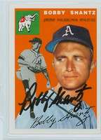 Bobby Shantz AUTOGRAPH Topps 1954 Archives #21 Athletics 