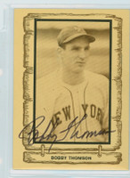 Bobby Thomson AUTOGRAPH d.10 1980-83  Legends Cramer Sports Giants 