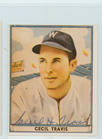 Cecil Travis AUTOGRAPH d.06 1941 Play Ball Reprints Senators 