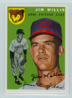 Jim Willis AUTOGRAPH Topps 1954 Archives #67 Cubs 