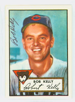 Bob Kelly HIGH # AUTOGRAPH 1952 Topps 1983 Reprint Browns 