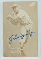 Johnny Mize AUTOGRAPH d.93 1947-66 Exhibit Cardinals 