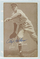 Alex Kellner AUTOGRAPH d.96 1947-66 Exhibit Athletics 