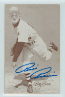 Billy Pierce AUTOGRAPH 1947-66 Exhibit White Sox 
