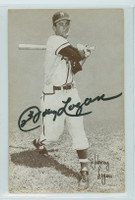Johnny Logan AUTOGRAPH 1947-66 Exhibit Braves 