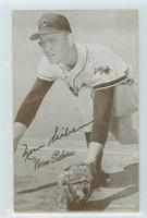 Norm Siebern AUTOGRAPH 1947-66 Exhibit Athletics 