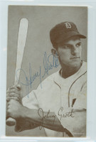 Johnny Groth AUTOGRAPH 1947-66 Exhibit Tigers 