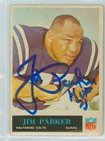 Jim Parker AUTOGRAPH d.05 1965 Philadelphia #10 Colts  [SKU:ParkJ51309_PH65FBjl]