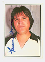 Francisco Barrios AUTOGRAPH d.82 1978 SSPG All Star Gallery White Sox 
