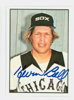 Kevin Bell AUTOGRAPH 1978 SSPG All Star Gallery White Sox   [SKU:BellK9804_S78ASG]