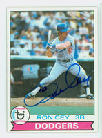 Ron Cey AUTOGRAPH 1979 Topps #190 Dodgers 