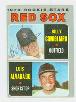 Billy Conigliaro AUTOGRAPH 1970 Topps #317 Red Sox 