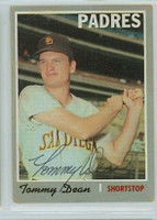 Tommy Dean AUTOGRAPH 1970 Topps #234 Padres 
