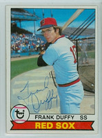 Frank Duffy AUTOGRAPH 1979 Topps #106 Red Sox 