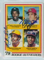 Mike Easler DUAL SIGNED 1978 Topps #710 Pirates Rookies   [SKU:EaslM6432_T78BBDRjl]