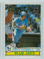 Roy Howell AUTOGRAPH 1979 Topps #101 Blue Jays 