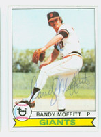 Randy Moffitt AUTOGRAPH 1979 Topps #62 Giants 