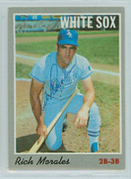 Rich Morales AUTOGRAPH 1970 Topps #91 White Sox 