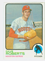 Dave Roberts AUTOGRAPH d.09 1973 Topps #39 Astros 