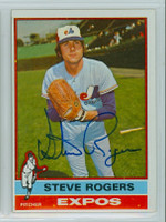 Steve Rogers AUTOGRAPH 1976 Topps #71 Expos   [SKU:RogeS1099_T76BBCpl]