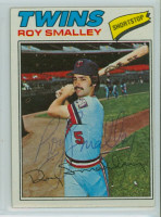 Roy Smalley AUTOGRAPH 1977 Topps #66 Twins 