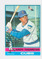 Andre Thornton AUTOGRAPH 1976 Topps #26 Cubs 