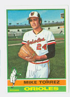 Mike Torrez AUTOGRAPH 1976 Topps #25 Orioles 