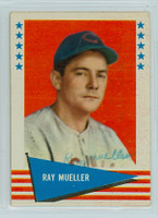 Ray Mueller AUTOGRAPH d.94 1961 Fleer Baseball Greats 