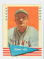 Johnny Mize AUTOGRAPH d.93 1961 Fleer Baseball Greats 