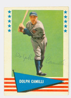 Dolph Camilli AUTOGRAPH d.97 1961 Fleer Baseball Greats 