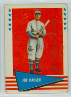 Joe Hauser AUTOGRAPH d.97 1961 Fleer Baseball Greats 