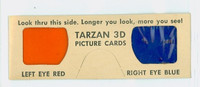 1953 Tarzan|She Devil 3-D Glasses Near-Mint
