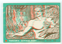 1953 Tarzan Savage Fury 7 Tarzan Meets Joe Near-Mint