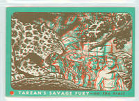 1953 Tarzan Savage Fury 19 On The Trail Near-Mint