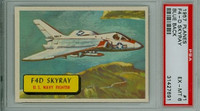 1957 Planes 1 F4D Skyray PSA 6 Excellent to Mint BLUE