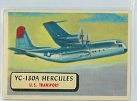 1957 Planes 4 YC-130 A Hercules Very Good to Excellent RED