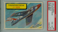 1957 Planes 6 Thunderstreak PSA 8.5 Near Mint to Mint Plus BLUE