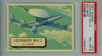 1957 Planes 10 Lockheed WV-2 PSA 8 Near Mint to Mint RED