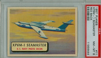 1957 Planes 11 XP6M-1 Seamaster PSA 8 Near Mint to Mint RED