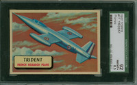 1957 Planes 17 Trident SGC92 Near-Mint to Mint Plus RED